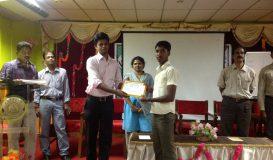 Awarding Certificates at Karaikal Polytechnic
