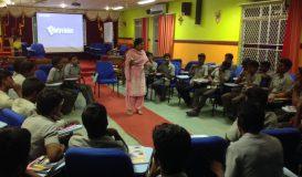 Interaction with Students at Karaikal Polytechnic