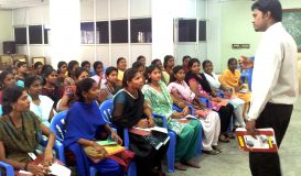 Class at Women's Polytechnic 2013